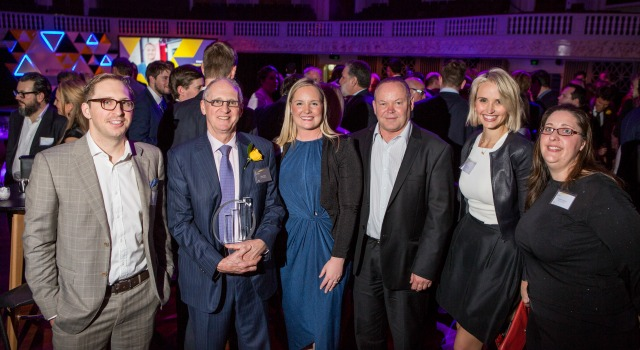Auscript team at the EY awards event